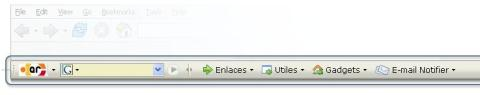 UbuntuAR Toolbar