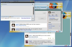 Desde Pidgin, microblogging a múltiples servicios!